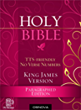 King James Bible (KJV) (TTS-friendly; no verse numbers)