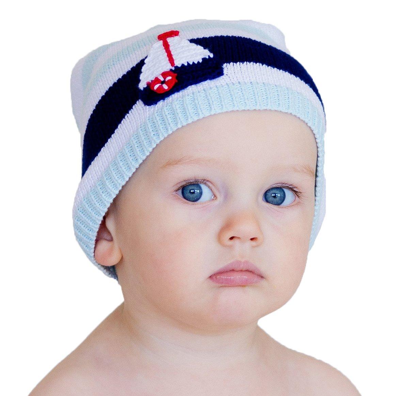 Huggalugs赤ちゃんと幼児Boatingビーニー帽子 Medium (approx age 6 to 24 months)  B01B718D18