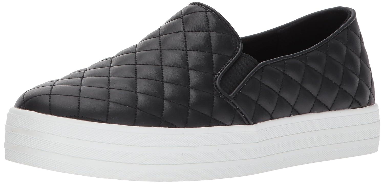 Skechers Double Up-Duvet, Zapatillas sin Cordones para Mujer 36.5 EU|Negro (Black)