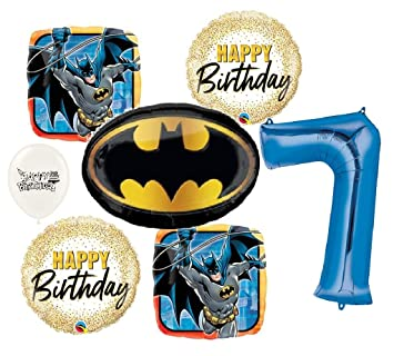 Amazon.com: The Ultimate Batman - Ramo de globos para fiesta ...