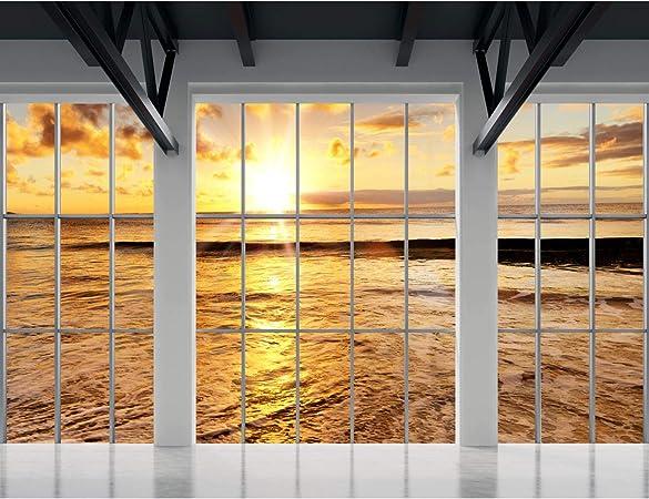 Tapisserie Photo Paysage 352 X 250 Cm Laine Papier Peint
