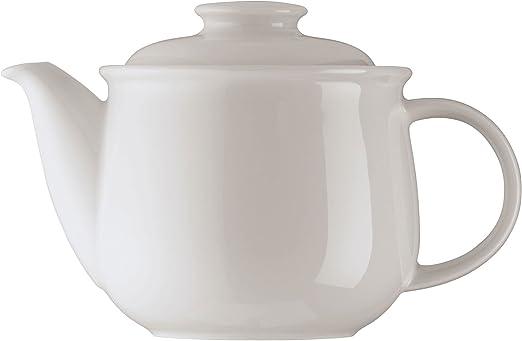 6x Arzberg Daily Hobby Weiss Tee-Untertassen Kl 13.5 cm Porzellan