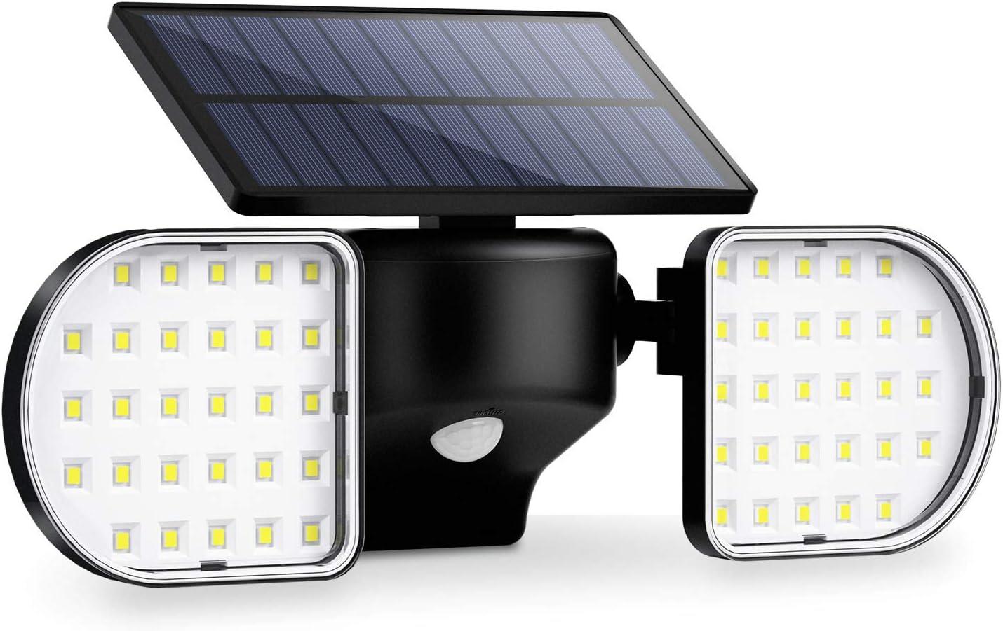 Ousfot Lumières Energie Solaire 56 DEL Solaire Lumières Détecteur de mouvement double