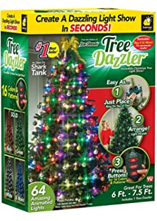 Star Shower Tree Dazzler Led Light Show By Bulbhead 16 Light