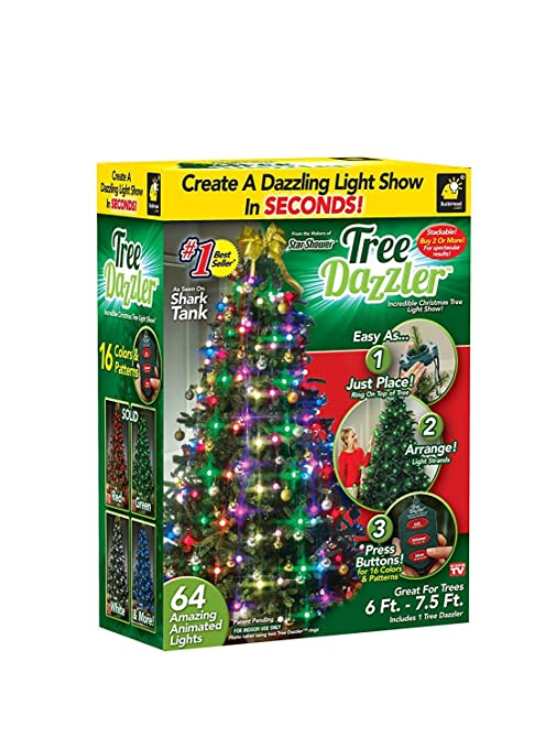 Christmas Colors.Star Shower Tree Dazzler Led Christmas Lights By Bulbhead Color Changing Led Light For The Christmas Tree 64 Globe Lights
