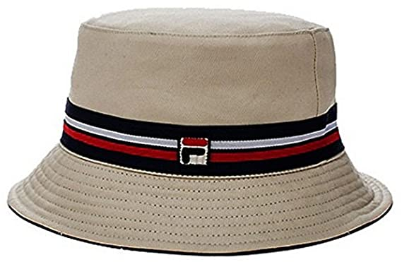 2c305dad12577 Fila Men s Heritage Basic Comfort Fashion Bucket Hat at Amazon Men s ...