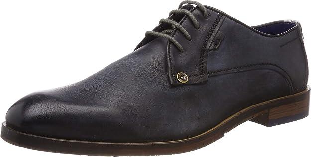 TALLA 42 EU. bugatti 3.12652e+11, Zapatos de Cordones Derby para Hombre