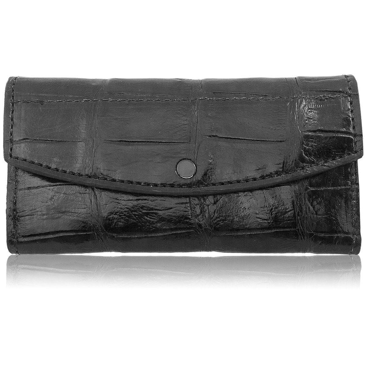 Genuine Alligator Leather Clutch Wallet Handmade