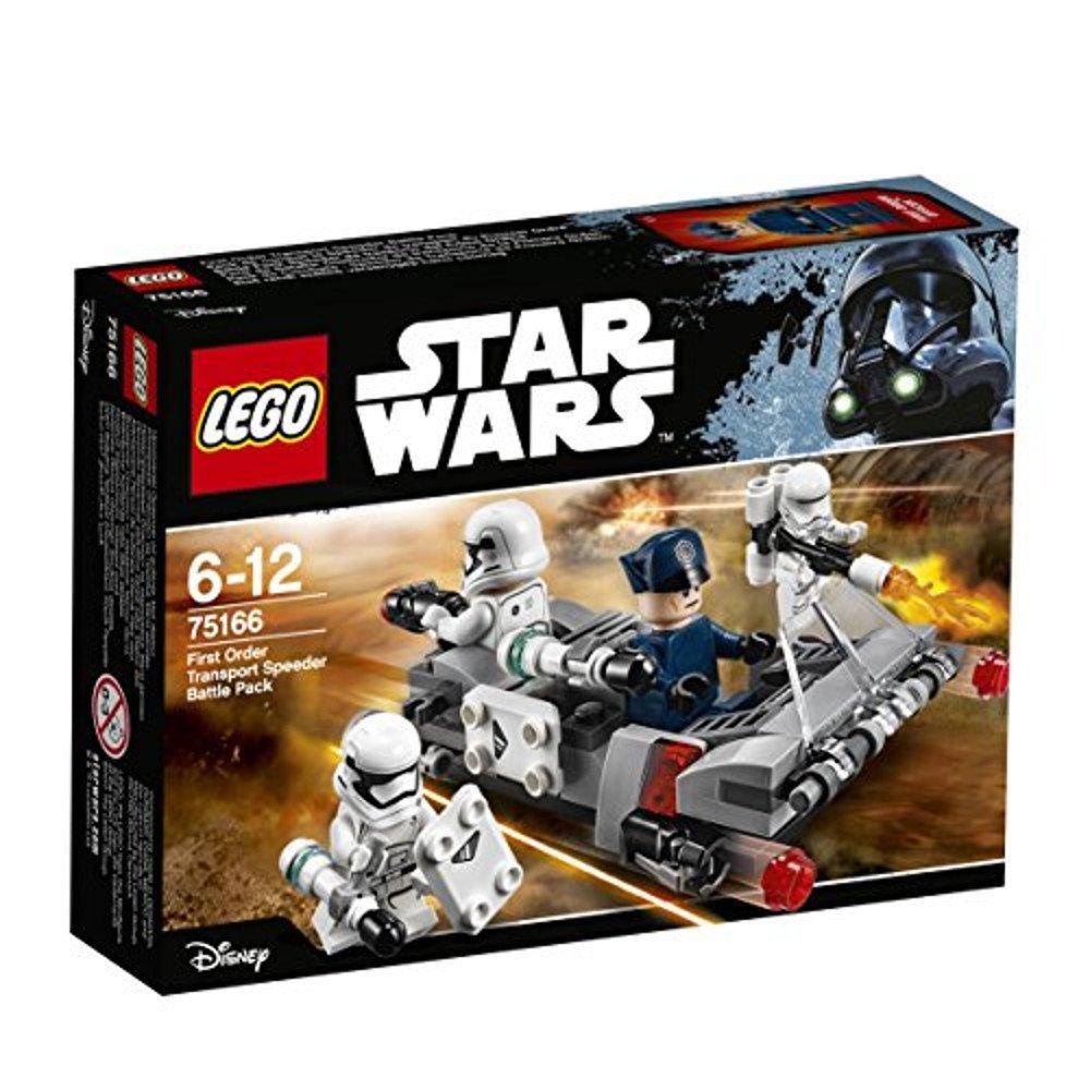 LEGO Star Wars Pack de Batalla: Deslizador de transporte de la Primera