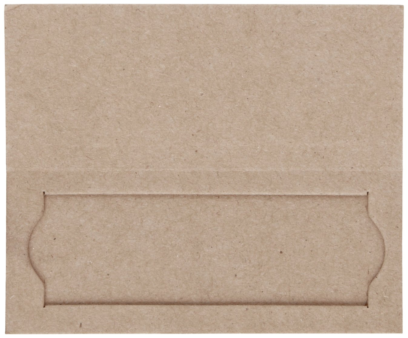 Pack of 25 Heathrow Scientific HD9903 Heavy Cardboard Slide Mailer with Thumb Groove HS9903 1 Place 95mm Length x 40mm Width x 5mm Height