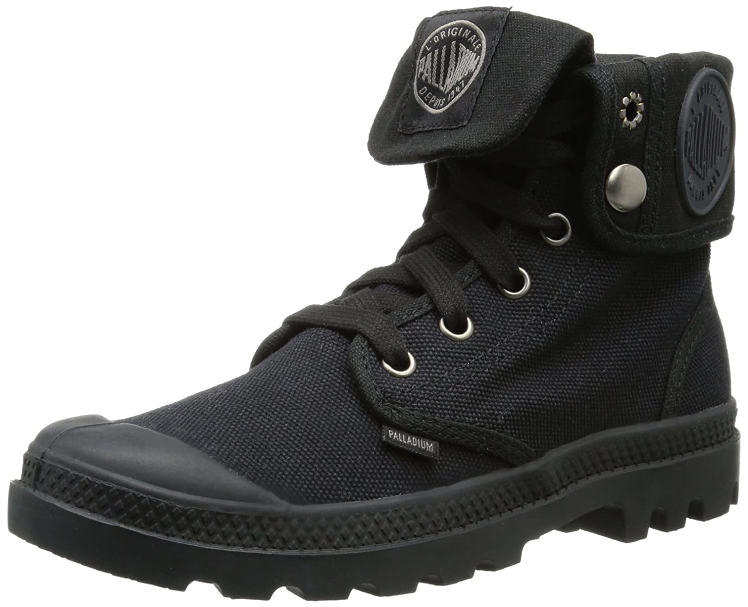 Palladium Pallabrouse Baggy, Damen Desert Boots, Schwarz (Black/Metal), 35.5 EU (3 Damen UK)