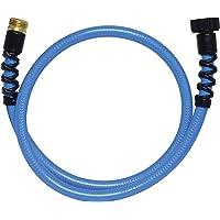 "Valterra W01-8048 AquaFresh High Pressure Drinking Water Hose with Hose Savers - 1/2"" x 4', Blue"