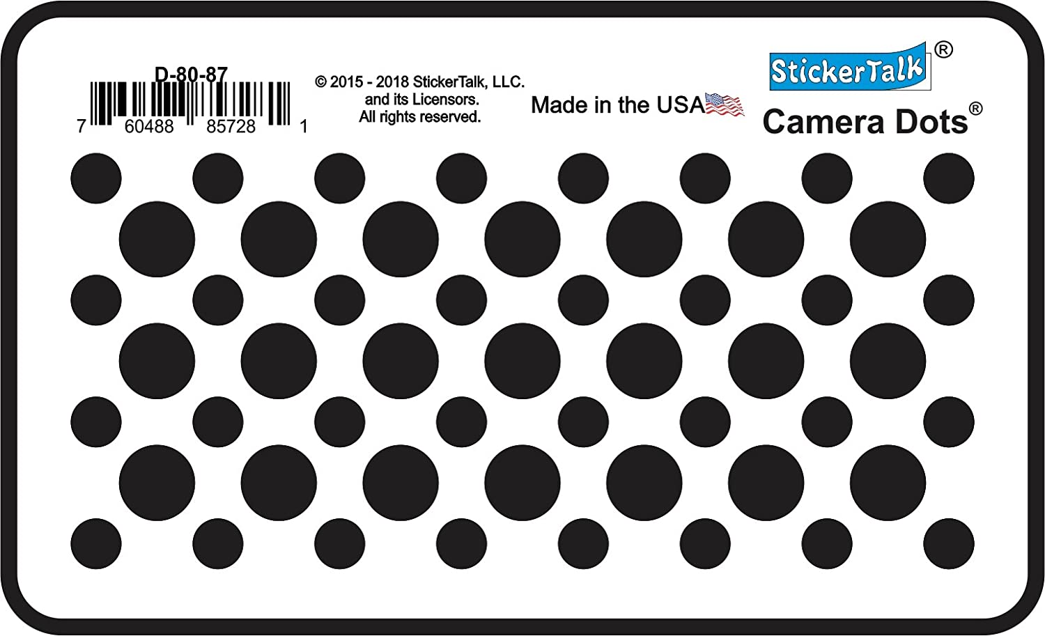 """Born in USA a Long time Ago made in the USA sticker decal 3/""""diameter"""