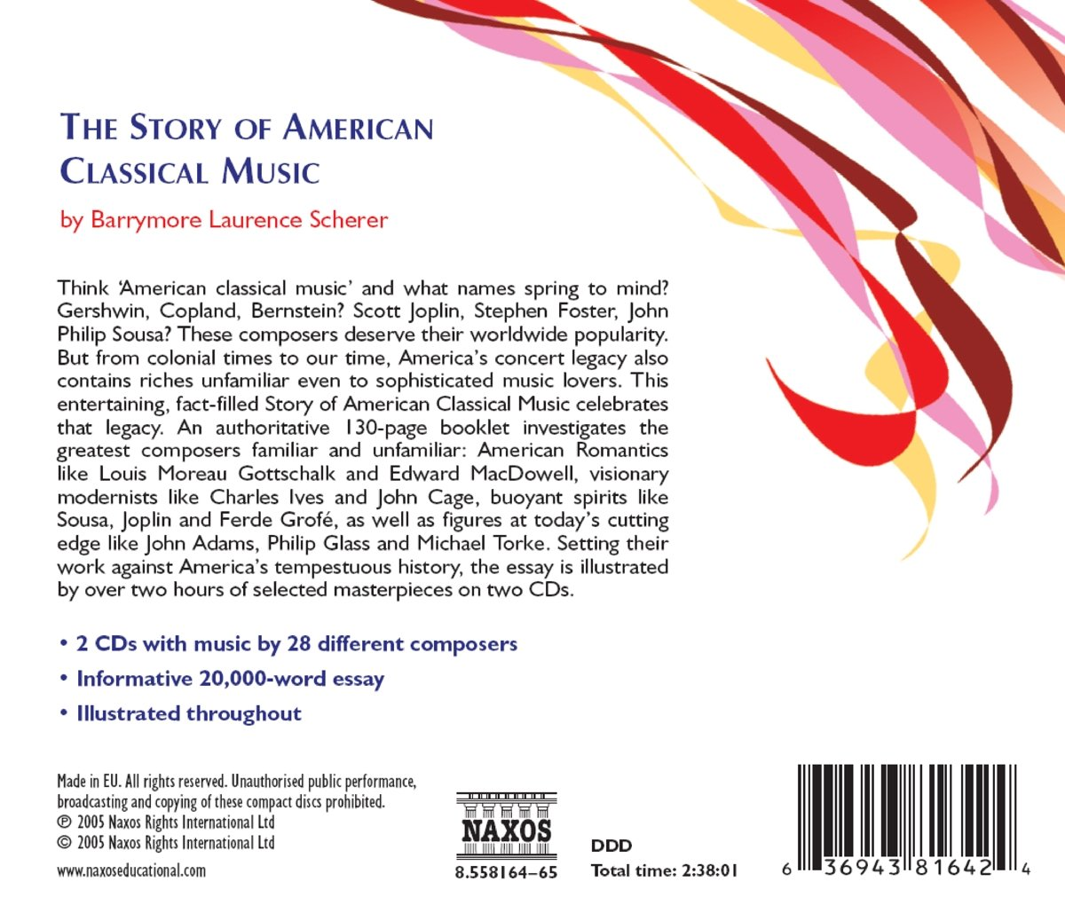 Story of American Classical Music by Naxos Educational