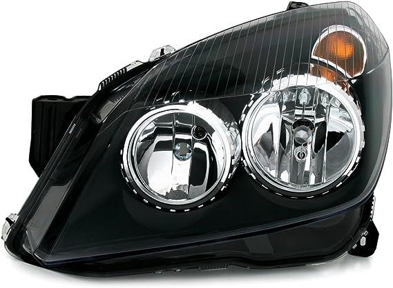 Tyc Halogen Scheinwerfer Set In Klarglas Schwarz Links Rechts Auto