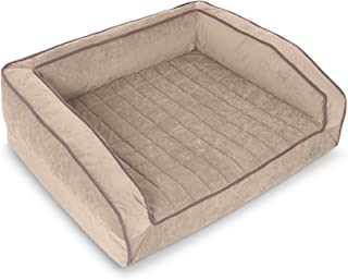 product image for BuddyRest, Crown Supreme, Medium Memory Foam dog bed, Cutting Edge True Cool Memory Foam, Scientifically Calibrated To Promote Joint Health, Handmade in the USA, Champagne Beige