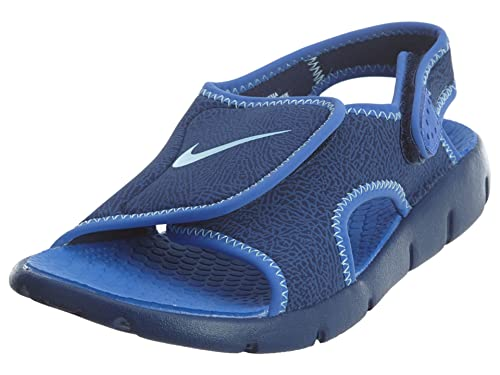 54cd6c005076 Nike Kids  Sunray Adjust 4 Sandal (GS PS)  386518-413 (4 Big Kid M)   Amazon.in  Shoes   Handbags
