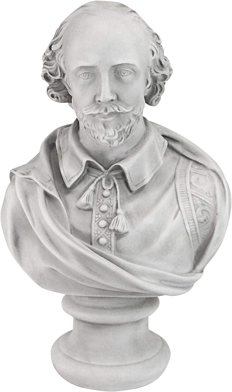 Design Toscano Venus de Milo Bust Statue Polyresin 30.5 cm Antique Stone