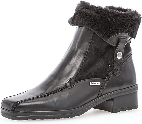 Gabor Damen Comfort Basic Stiefel, Schwarz