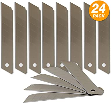 Amazon Com Cutter Replacement Blade Carbon Steel Craft Knife Blades For Art Work Cutting Carving Boston Paper Cutter Replacement Blade Heavy Duty Box Cutter 2 Pack By Emraw Office Products