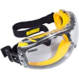 Dewalt DPG82-11C Concealer Clear Anti-Fog Dual Mold Safety Goggle, Clear Lens, 1 Pair