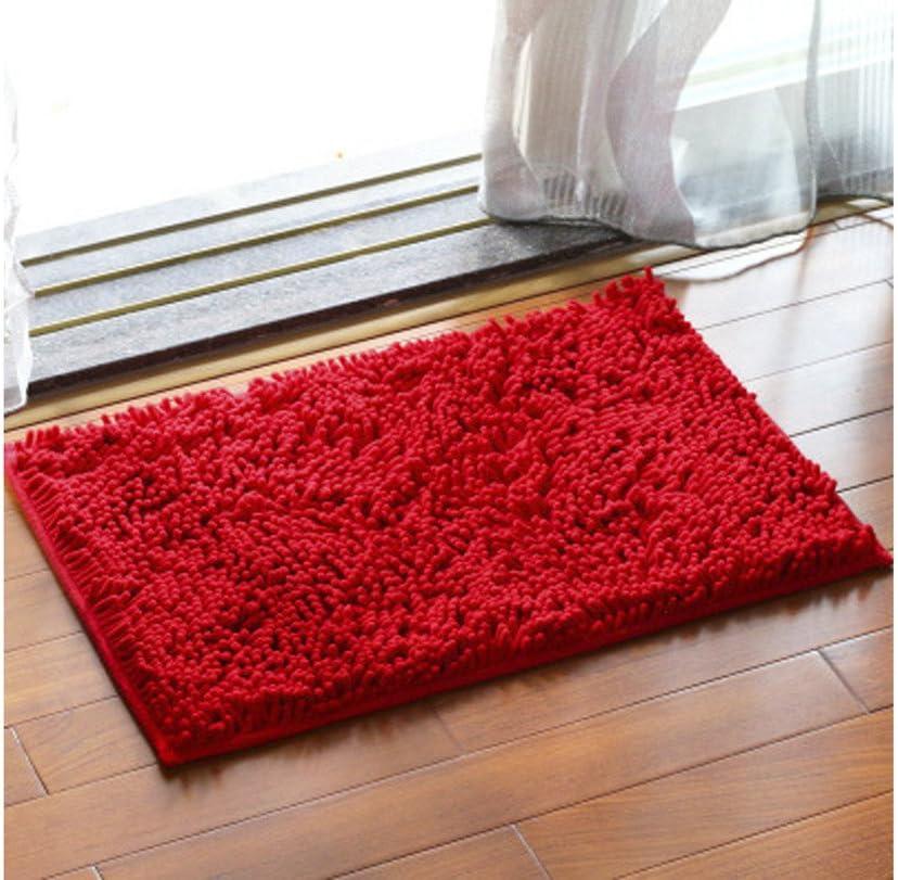 Amazon Com Chezmax Chenille Specific Color Non Slip Indoor Outdoor Hello Doormat Large Small Inside Outside Front Door Mat Carpet Floor Rug Red 16 X24 Home Kitchen