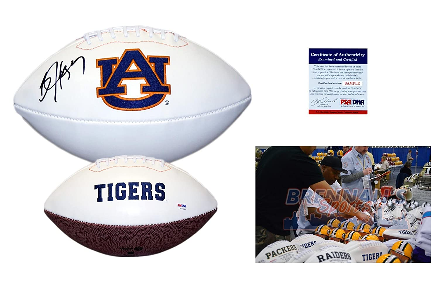 Bo Jackson Signed Football - PSA/DNA - Auburn Tigers Autographed Ball