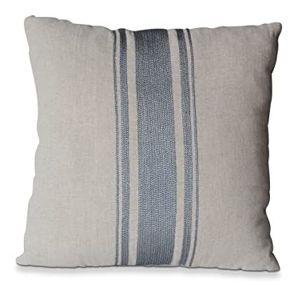 Amazon Oatmeal Linen Gray Grain Sack Pillow Cover Hand Extraordinary Grain Sack Pillow Covers