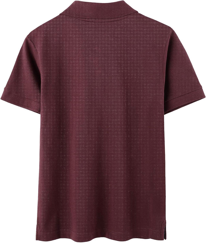 LAPASA Polo per Bambini in Cotone Traspirante Classic Fit Maglietta T-Shirt a Maniche Corte K03