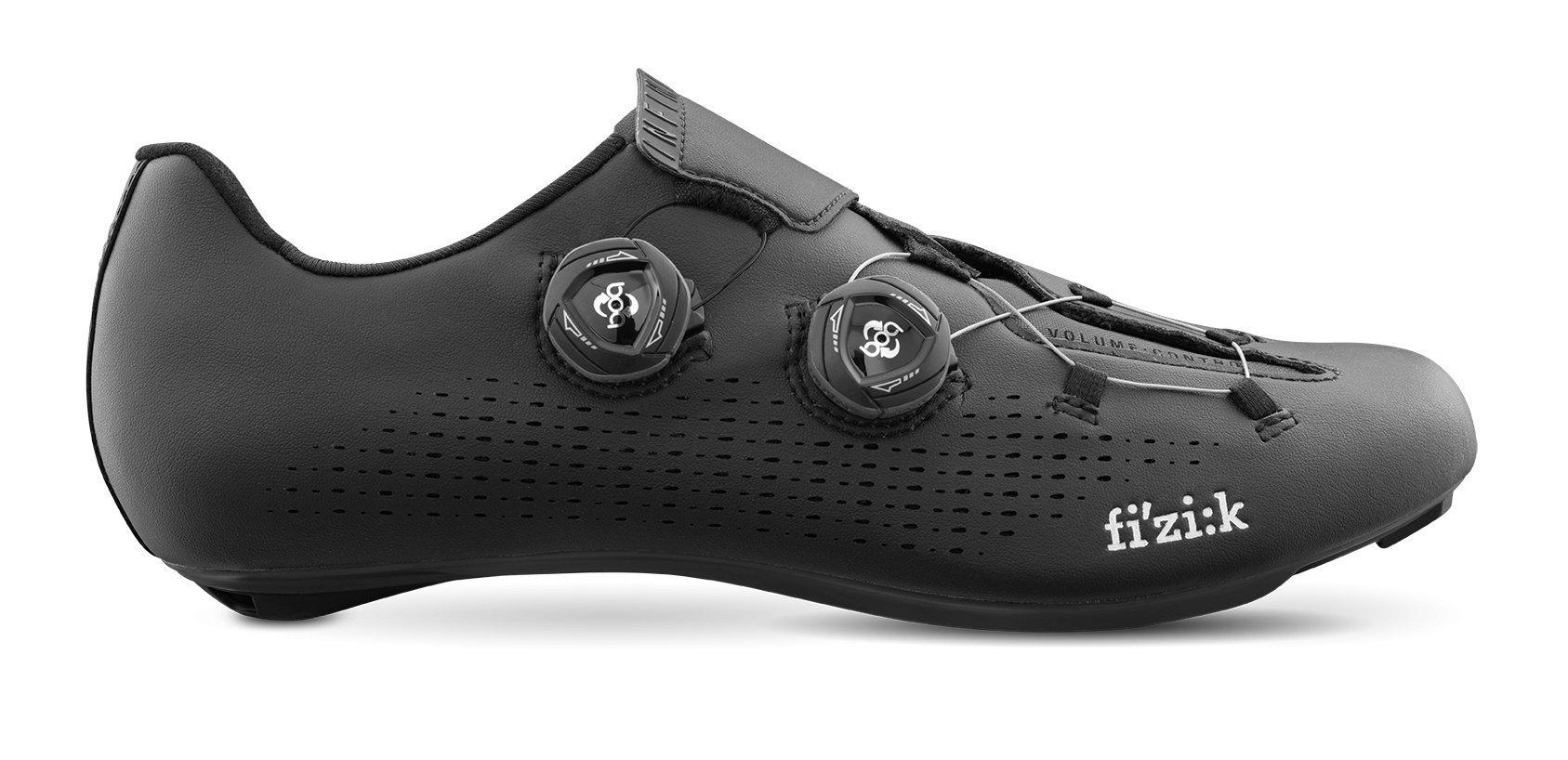 Fizik R1 INFINITO Shoes, Black, Size 37.5