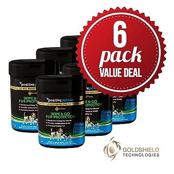 6 Pack Value Deal – 7 Día limpiador y Go piel pantalla, fresco gato/