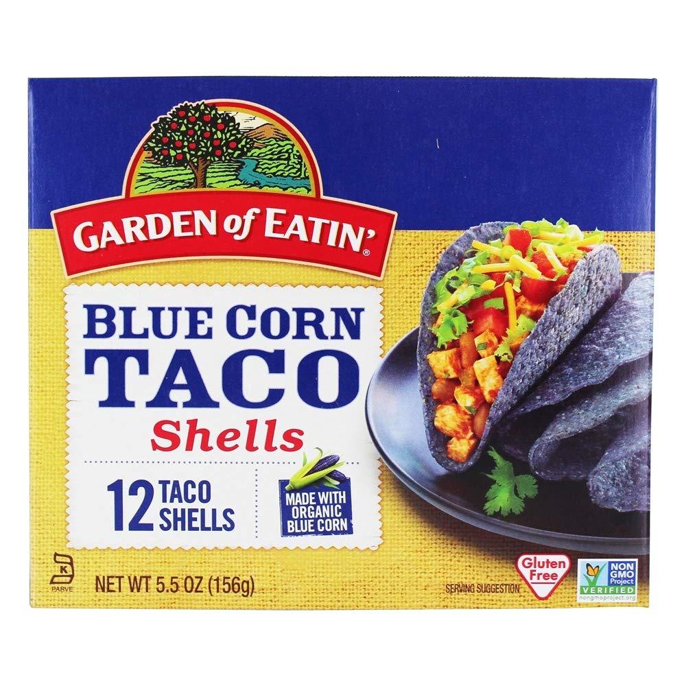 Garden Of Eatin' Blue Corn Taco Shells - 12 CT