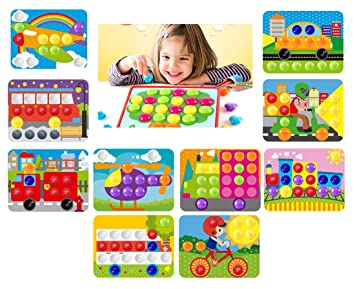 Buy Goappugo 10 Vehicles In 1 Creative Activity Toys For 1 2 3 Year