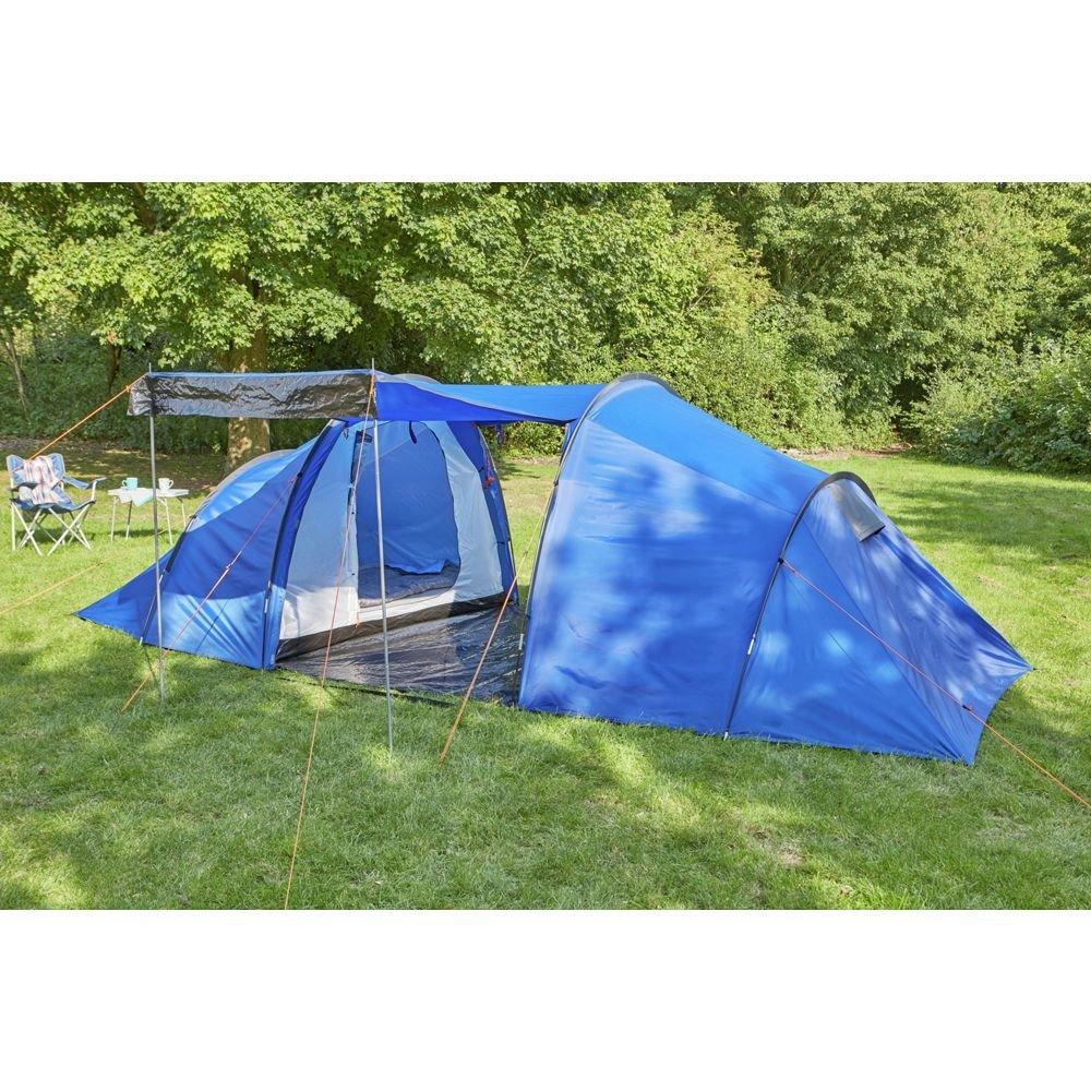 ProAction 6 Man 2 Room Tent