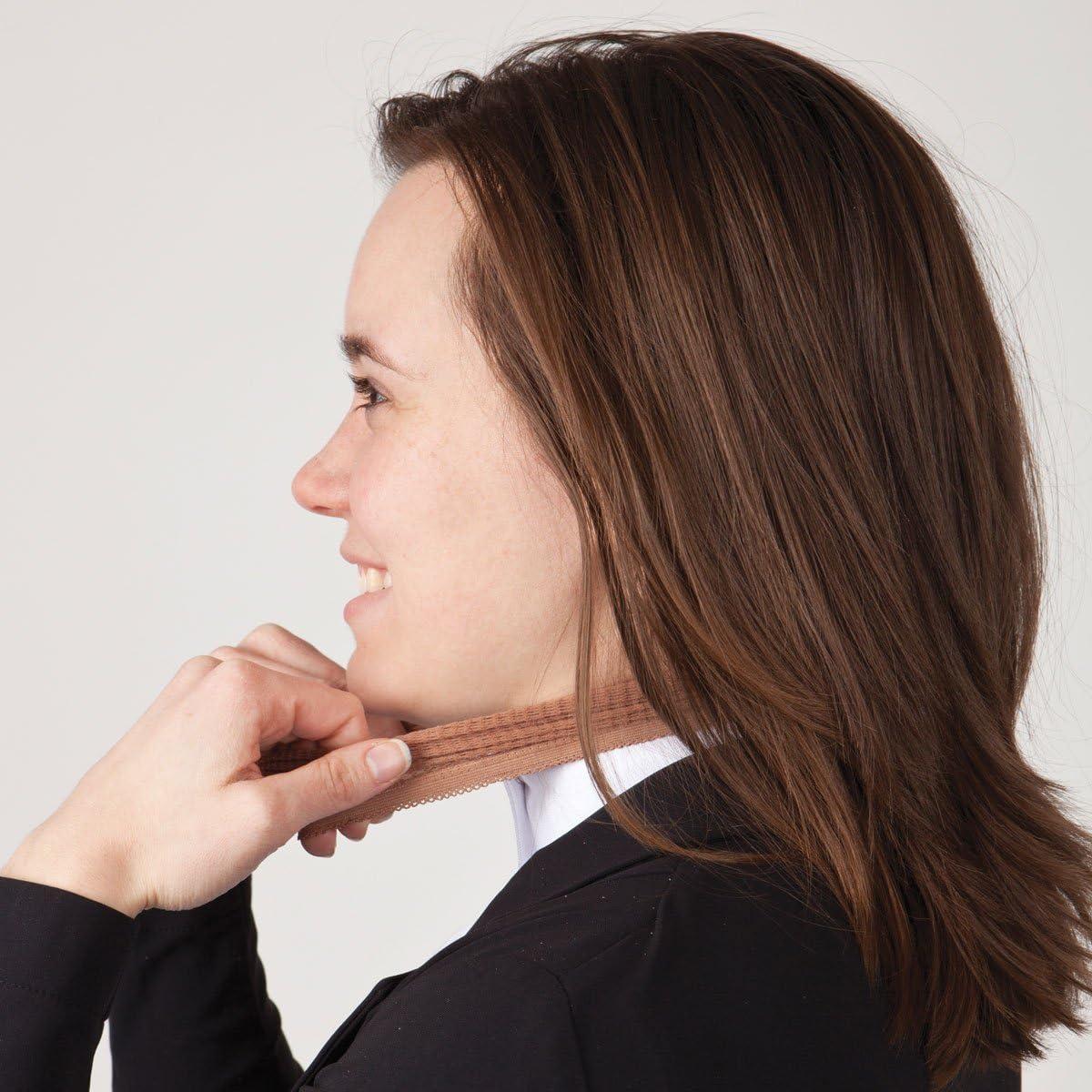 Light Brown Real Women Ride No-Knot Hair Nets
