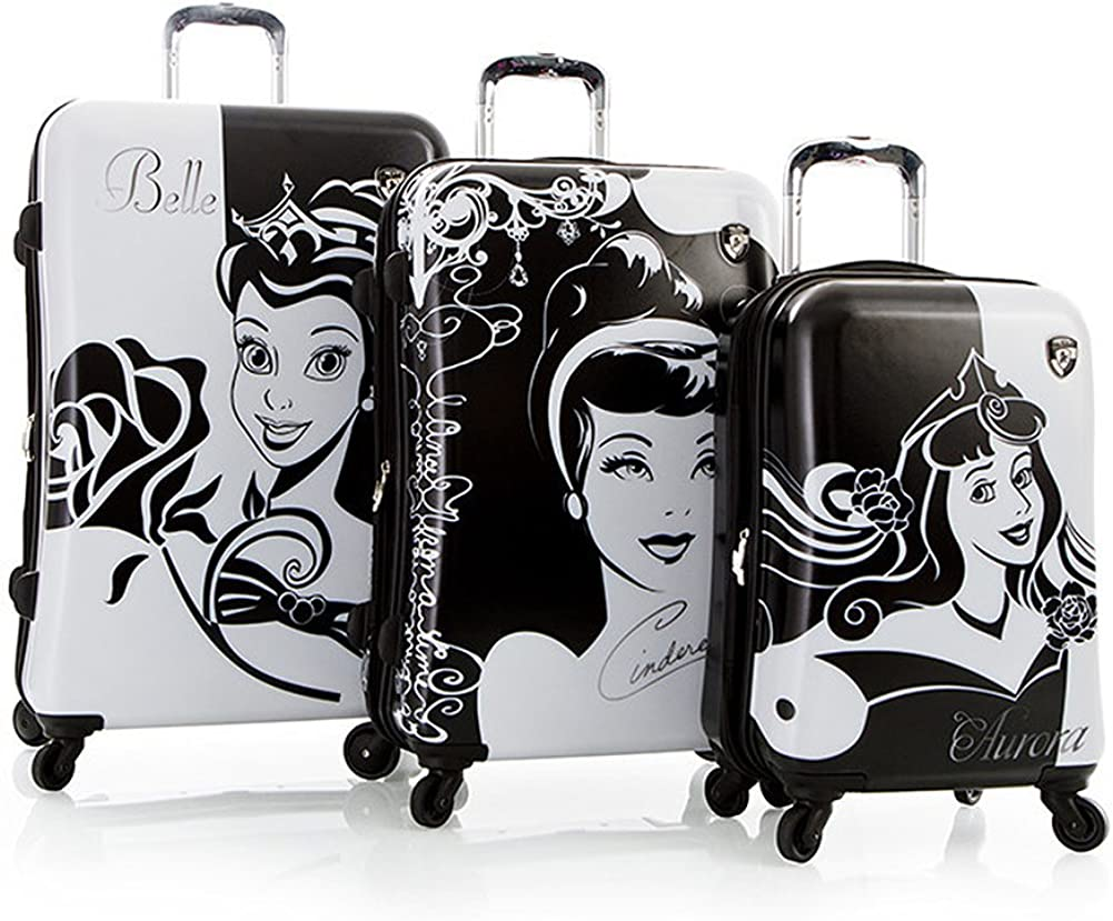 Heys Classic Disney Princess Hardside Luggage Set 3-Piece