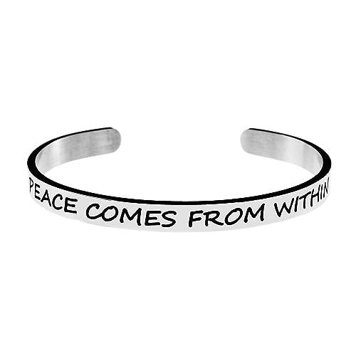 Amazon.com: joycuff pulsera de la amistad Cuff regalo para ...