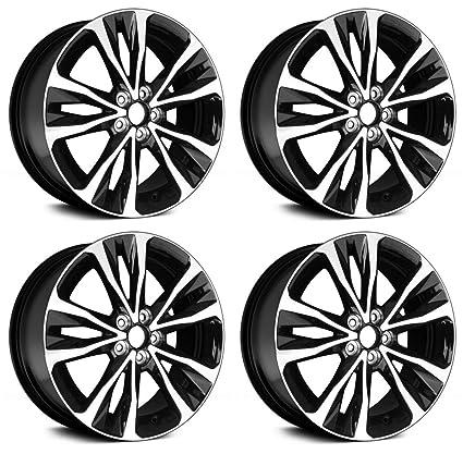 Toyota Corolla Tires >> Amazon Com New 17 Toyota Corolla Wheels Rims 2003 2018 Set