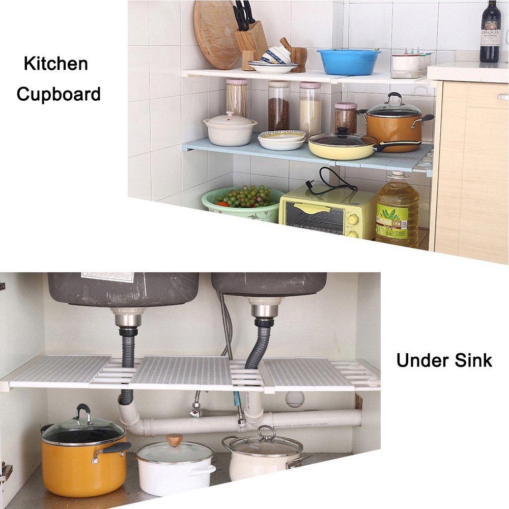 vancore verstellbar Storage Rack Kleiderschrank Schrank Küche ...