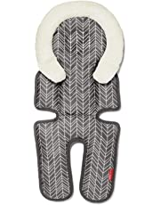 Skip Hop Stroll and Go Cool Touch Infant Support, Grey Feather