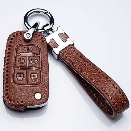 4 Buttons Key Fob Compatible with 2010 to 2019 Chevrolet Equinox Cruze Impala Malibu Sonic GMC Terrain Buick LaCrosse Regal Verano Encore Allure