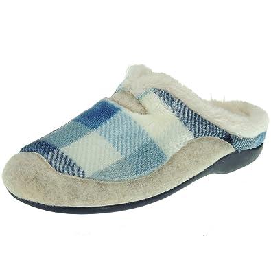 GARZÓN 7450.237 Zapatilla Invierno Chinela de Casa Nórdico para Mujer: Amazon.es: Zapatos y complementos