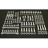 ALLOYBOLTZ - SMALL BLOCK CHEVY SBC 265 283 305 307 327 350 400 STAINLESS ENGINE HEX BOLT KIT