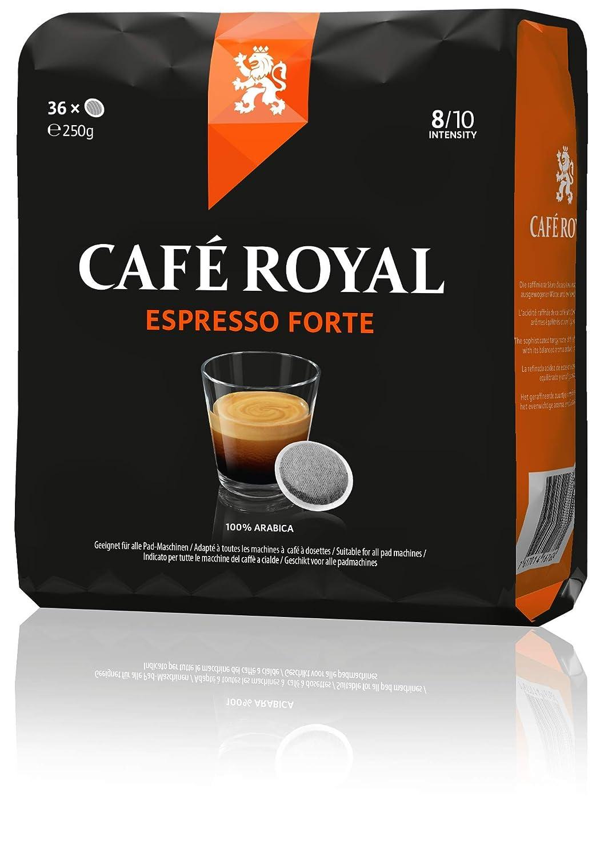 café royal, espresso forte