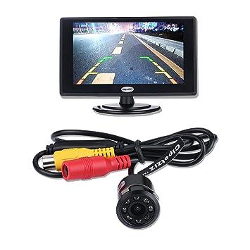 Copia de seguridad cámara y Monitor Kit para coche, cipotziz 4.3 ...