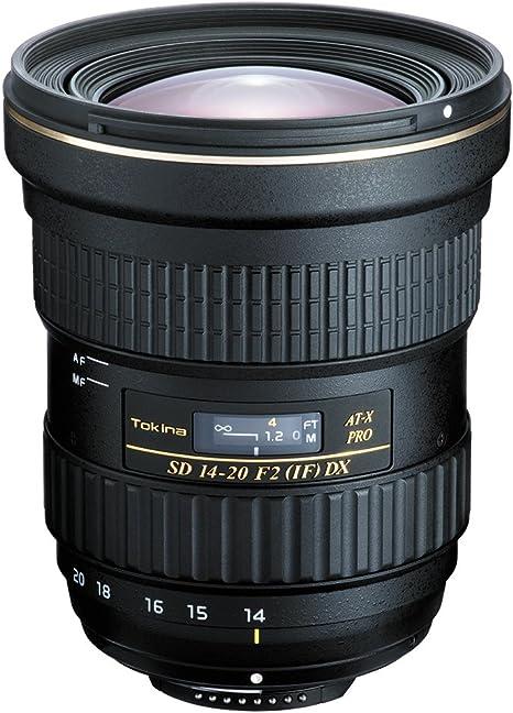 Tokina AT-X 14-20 mm F2 Pro DX: Amazon.es: Electrónica