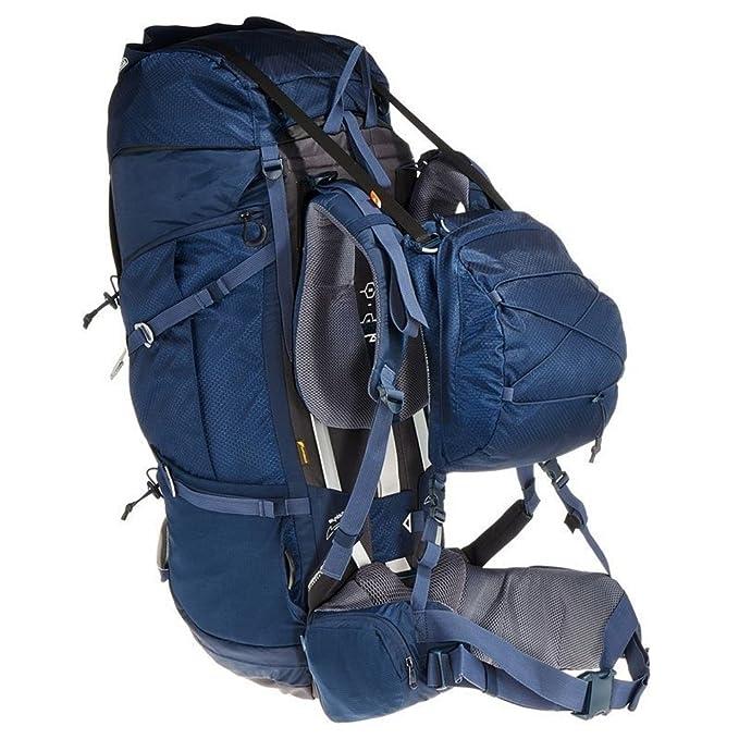 DECATHLON QUECHUA SYMBIUM 70 + 10L varios días TREKKING Mochila azul oscuro: Amazon.es: Deportes y aire libre