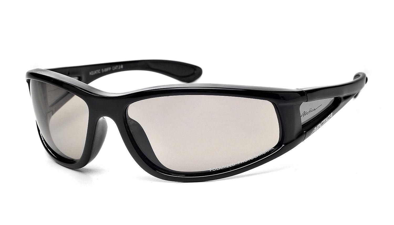 Polarisierende & Photochrome ARCTICA ® S-69FP Unsinkbar Selbsttönende Sonnenbrille. Zum Angeln, Radfahren und für den täglichen Gebrauch.