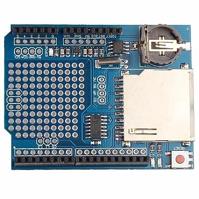 BAJIAN-LI Escudo Grabadora de registro de registro de datos del módulo de Data Logger shield para Arduino UNO SD