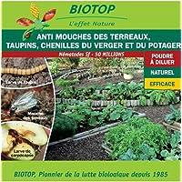Biotop – Nematode SF antimoscas para tierra, orugas